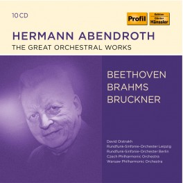 Les Grandes Oeuvres Orchestrales / Hermann Abendroth