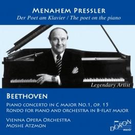 Beethoven : Concerto & Rondo / Menahem Pressler