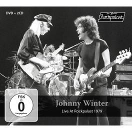 Live At Rockpalast 1979 / Johnny Winter (2 CD + DVD)