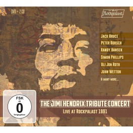 The Jimi Hendrix Tribute Concert - Live at Rockpalast 1991 (2 CD + DVD)