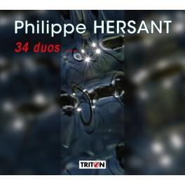 Hersant, Philippe : 34 duos ...