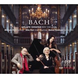 Bach : 6 Sonates pour flûte BWV 1030 -1035