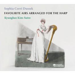 Dussek, Sophia : Airs favoris arrangés pour la harpe