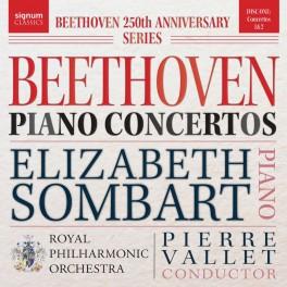 Beethoven : Concertos pour piano n°1 et n°2 / Elizabeth Sombart