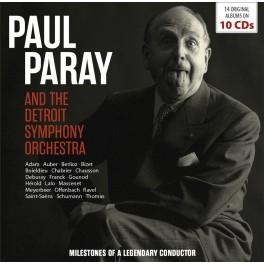 Milestones of a Legendary Conductor / Paul Paray & l'Orchestre symphonique de Détroit