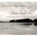Comme des longs échos ... Mélodies sur des poèmes de Charles Baudelaire