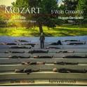 Mozart : 5 Concertos pour violon / Hugues Borsarello