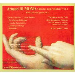Dumond : Oeuvres pour guitare Vol.1
