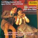 Bach - Pleyel - Koestier : Trois concertos pour deux flûtes