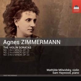 Zimmermann, Agnès : Les Sonates pour Violon