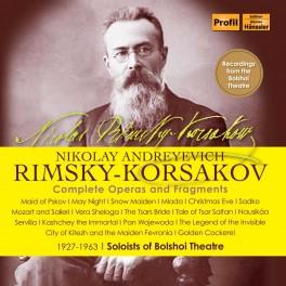 Rimski-Korsakov : Intégrale des Opéras & Fragments