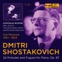 Chostakovitch : 24 Préludes & Fugues Op.87 / Sviatoslav Richter