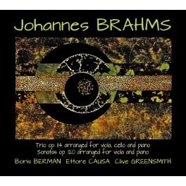 Brahms, Johannes : Sonates Op.120 pour Alto, Trio Op.114 pour Alto