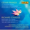 Franck - Strauss : Oeuvres pour piano & orchestre