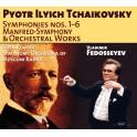 Tchaïkovski : Symphonies, Symphonie Manfred et oeuvres orchestrales