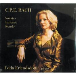 Bach : Sonates et pièces pour piano / Edda Erlendsdóttir