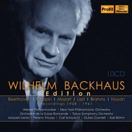Wilhelm Backhaus Edition - Recordings 1908-1961