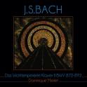 Bach : Le Clavier Bien Tempéré - Livre 2 / Dominique Merlet