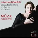 Brahms : Concertos pour piano n°1 et n°2 / Mūza Rubackytė