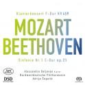 Mozart - Beethoven : Concerto pour piano n°19 - Symphonie n°1 / Alessandro Deljavan