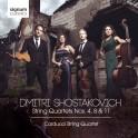 Chostakovitch, Dmitri : Quatuors à cordes n°4, n°8 & n°11