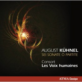 Kühnel, August : Sei Sonate O Partite