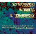 Szymanowski - Weinberg - Tcha•kovski : Oeuvres orchestrales