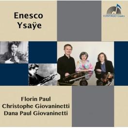 Enesco - Ysaÿe : Sonates pour violons et piano