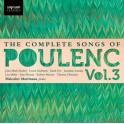Poulenc : Intégrale des mélodies Vol.3