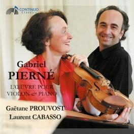 Pierné, Gabriel : L'oeuvre pour violon & piano