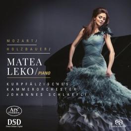 Holzbauer - Mozart : Symphonie, Concertos pour piano
