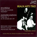Dvorak - Mendelssohn : Trios