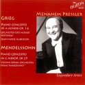 Grieg - Mendelssohn : Concertos pour piano
