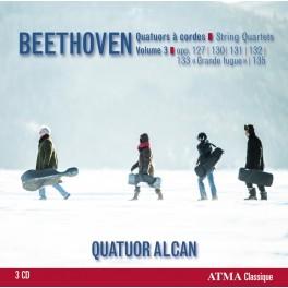 Beethoven : Quatuors à cordes Vol.3
