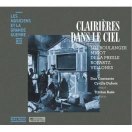 Les Musiciens et la Grande Guerre Vol.13 : Clairières dans le ciel