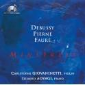 Debussy - Pierné - Fauré : Minstrels