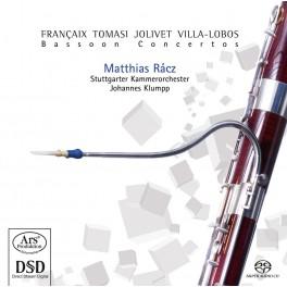 Françaix - Tomasi - Jolivet : Concertos pour basson