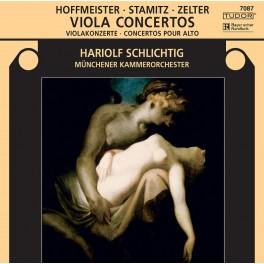 Stamitz - Hoffmeister - Zelter : Concerto pour Alto