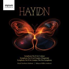 Haydn : Symphonies n°52, n°53 & n°59