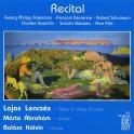 Recital, oeuvres pour hautbois, violon et piano