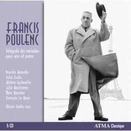 Poulenc, Francis : Intégrale des mélodies pour voix et piano