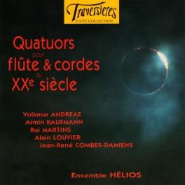 Quatuors pour flûžte & cordes du 20ème siècle