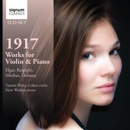 1917, Oeuvres pour violon et piano