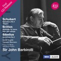 Schubert - Britten - Sibelius : Oeuvres pour orchestre