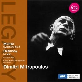 Mahler - Debussy : Symphonie n°3, La Mer