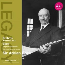 Brahms - Elgar : Symphonie n°1, Variations Enigma