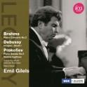 Brahms - Debussy - Prokofiev : Concerto pour piano, Images, Sonates pour piano