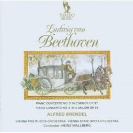 Beethoven : Concertos pour piano n°3 et n°4