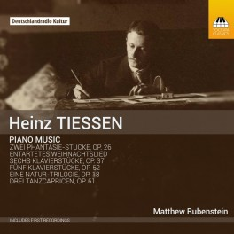 Tiessen, Heinz : Oeuvres pour piano