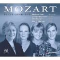 Mozart : Quatuors avec flûte